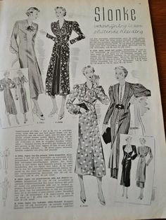 Het Nieuwe Modeblad March 1937