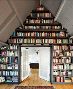 Great bookshelf interiors