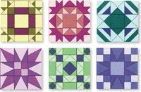 Perfect Patchwork Templates System From Marti Michell