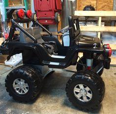 Lifted custom power wheels