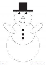 Maternelle cycle 1 on pinterest animaux puzzles and petite section - Fabriquer un bonhomme de neige ...