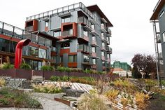 LEED V4 vs. LEED 2009: What it Means for Your Project's Landscape Landscape Elements, Green Landscape, Landscape Architecture, Leed Certification, Pacific Northwest, Sustainability, Multi Story Building, Mansions, House Styles