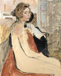 """bofransson:  """" EDOUARD VUILLARD (1868-1940) Le Modèle  """""""