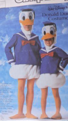 "SeeSallySew.com - Donald Duck Halloween Walt Disney Character Simplicity 7731 Costume Pattern Large Adult Sz. 40"" - 42"" , $16.99 (http://stores.seesallysew.com/donald-duck-halloween-walt-disney-character-simplicity-7731-costume-pattern-large-adult-sz-40-42/)"