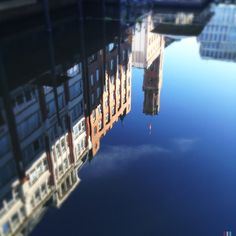Some nice refections. Bleichensteg. Hamburg.