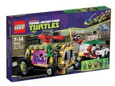 LEGO Tortugas Ninja – Persecución en el furgón blindado (79104) | Your #1 Source for Toys and Games