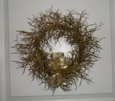 Golden wreath