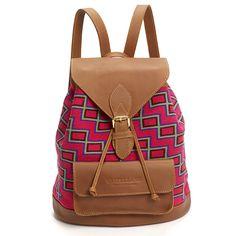 Atsin Wayuu Backpack – So Just Shop #ethical #ethicalfashion #sustainablefashion #handmade #handbag #backpack #ethicalhandbag