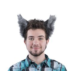 ba5bb864c Pawstar Classic WOLF EAR HEADBAND - Furry Animal Ears Natural Realistic  Brown Rust Butterscotch Grau Grey Tan White Black Kitty Cat Fox 3066
