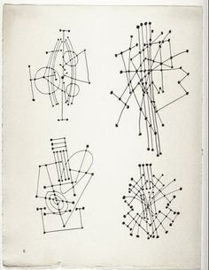 Constellation (ink drawing), 1931 by Pablo Picasso #zentangle #pattern #reference