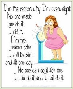 No one can do it for me...