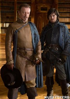 The Musketeers - Treville and Athos