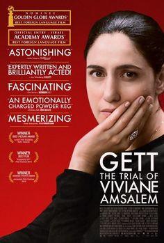 Gett, the Trial of Viviane Amsalem Movie Poster