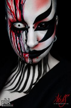 crazy halloween makeup
