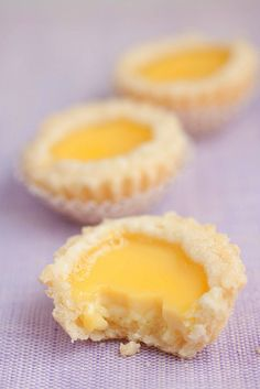 Hong Kong Egg Tarts, I have only seen them offered at Chinese Dim Sum restaurants or bakeries in Chinatowns. So delicious