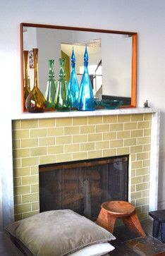 1930s style fireplace