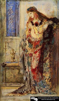 La Toilette  Gustave Moreau