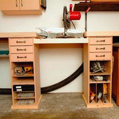 Mitersaw Work Station Woodworking Plan from WOOD Magazine