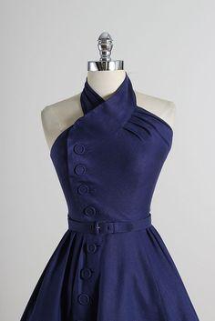 Twist & Twirl . vintage 1950s dress . vintage by millstreetvintage