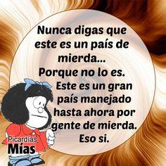 Mafalda Mafalda Quotes, Best Quotes, Life Quotes, Quotes En Espanol, Spanish Humor, Stand Up, Decir No, Nostalgia, Wisdom