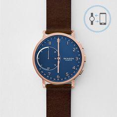 Hagen Connected Hybrid Smartwatch - Leder