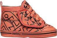 Baby Coral/Black Print - Volley Shoes