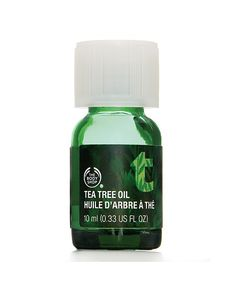 To banish any pimples overnight, apply a drop of tea tree oil on top of your blemish and watch it disappear overnight.