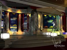 Event Stage Mandiri Bank  |  Ryogart