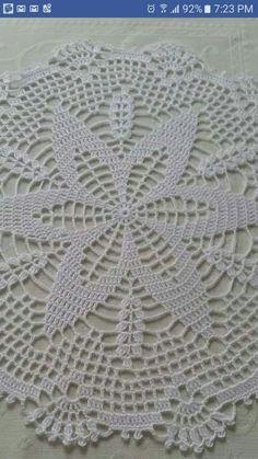 Crochet Round Cream White Doily Centerpiece Crochet Home Decor Crochet Table Decor made in Lithuania Free Crochet Doily Patterns, Crochet Motif, Hand Crochet, Crochet Lace, Lace Doilies, Crochet Doilies, Crochet Flowers, Thread Crochet, Filet Crochet