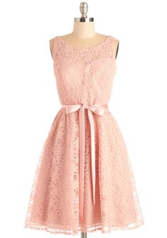 Simply Divine Dress in Blush, #ModCloth