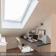 In Dieser Dachgeschosswohnung War Wieder Unsere Kreativität Gefragt. Die  Vielen Dachschrägen Und Das Offene Raumkonzept