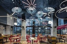 Bellavista Jardín del Norte (Barcelona, Spain) El Equipo Creativo W #restaurant #bar #design #interior #ristoranti #pub #living #bardesign #interiordesign #restaurantdesign