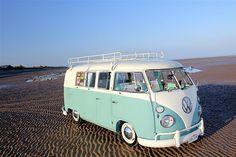 Beach car, volkswagen t1.