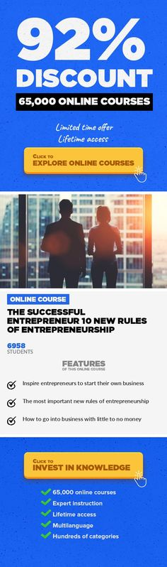 The Successful Entrepreneur 10 New Rules of Entrepreneurship Entrepreneurship, Business  The Complete Guide To Entrepreneurship With The Principals To Guide Your Way To Success Last Updated: February 4th 2016 I've been a full time entrepreneur since the age of 24 when I quit my IT engineering job making over $70,000 a year to pursue a music career. I sold hundreds of thousands of albums in the mus...