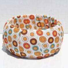 braceletes de tecido