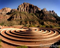 my favorite meditation spot-- Labyrinth, Zion, Utah.