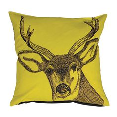 Stag cushion :: Sterling Furniture, UK