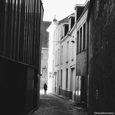 Once you have traveled the voyage never ends... #blackandwhite #blackandwhitephotography #light in the #small #streets of #ghent #gent #visitgent #ghentcity #visitflanders #vsco #vscocam #wanderlust #travel #travelgram #guardiancities #guardiantravelsnaps #belgium #igbelgium #travelquote #shotoniphone7plus #historic #city #centre #houses #streetphotography