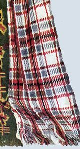 Woven Scotch Plaid Afghan | Crochet Patterns