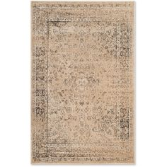 Safavieh Vintage Palace Rug (€58) ❤ liked on Polyvore featuring home, rugs, safavieh area rugs, safavieh, loom rugs, viscose rugs and vintage rugs