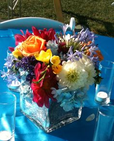all reception flowers created and designed by bridal blooms & creations #wedding #texasweddings #flowers #floraldesign #reception #centerpieces #bridalblooms