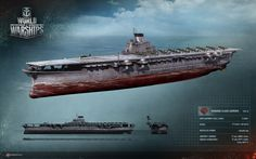 World of Warships, IJN Shinano - Flugzeugträger