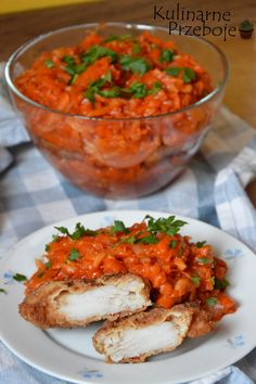 Pin by Dori on Polnische rezepte in 2020 Fish Dishes, Seafood Dishes, Seafood Recipes, Cooking Recipes, Xmas Food, Christmas Cooking, Baked Salmon, Food Inspiration, Italian Recipes