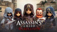 Assassin's Creed Rebellion es un juego de ROL (RPG) que trata sobre la famosa saga de asesinos de la arena pero esta vez con una temática totalmente nueva donde usaremos el sigilo y la estrategia para avanzar al siguiente cuadro de la misión, creado y o actualizado por los estudios Ubisoft Entertainment en la fecha de 24 de octubre de 2017, actualmente esta en la versión 1.2.1 compatible con Android 4.3 en adelante y apto para niños desde los 13 años en adelante, tiene una puntuación de 4.4…