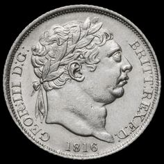1816 George III Milled Silver Sixpence – EF