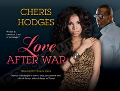 Custom eBook Cover Design | Love After War by Cheris Hodges | © Recorded Books, LLC | Cover designed by Ashlee Sasscer | Book cover design | audiobook | graphic design | ashlee.dws@gmail.com