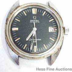 Rare Omega Seamaster 120 Automatic 166.027 To Restore Watch #Omega