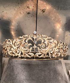 Diamond Tiara / Sotheby's - Mandarin Oriental Geneva 11/11/2017