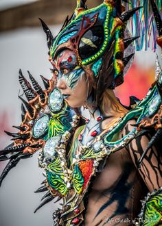 Daegu Bodypainting Festival - Fantasy Make-Up Competition