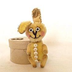 Teddy Rabbit Coral by Mara Grishina